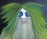 Troll, 2007, 80 x 60 cm, oil on canvas