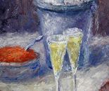 Caviar and champagne (a series Appointment)