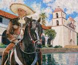 Vaquero at the Santa Barbara Mission