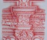 Particolare architettonico di Santa Croce di Lecce