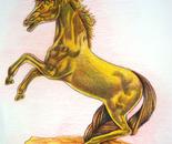 Oggetto di un cavallo