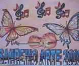 Locandina per Sanremo Arte 2000