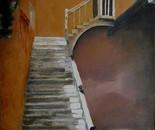 Waterwell and stairs at the Palazzo Centani, Venezia