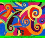Polyhymnia (muse of Mime)