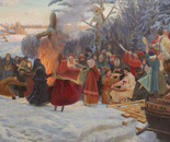 Shrovetide. Farewell to Winter. XVII Century.