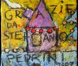 """""""La Casa di Pina"""" cm 20x20"""