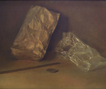 Still life with the paper bags. 1987