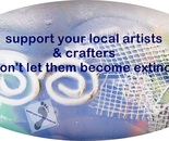 please support local artists and crafters