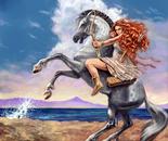 The ancient Greek goddess Artemis