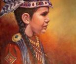 Portraiture - Hopeful pow wow princess
