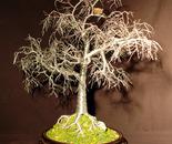 Winter Bird Nest  - Wire Tree Sculpture