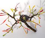 Bird Nest No.8 - Wire Sculpture