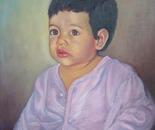 Nadia - Oil on canvas