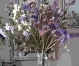 vaso fiori secchi