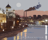 ciminiere a Mosca