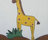 Giraffe for Ian - Copyright JF