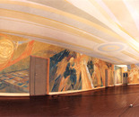 Mural painting: General view