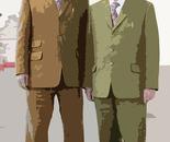 """omaggio a  """" Gilbert & George """" ad ARTISSIMA di Torino"""