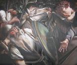 LA CONVERSIONE DI SAN PAOLO prima versione OMAGGIO all'artista Caravaggio