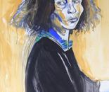 Self Portrait, Yellow & Blue