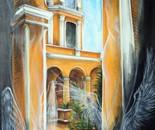 Los pilares de la historia-100x70cm-acrílico-carbón-lienzo