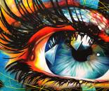 Paradise - 36x72 - Acrylic on canvas
