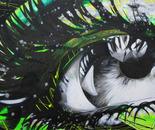 Green World - 30x60 - Acrylic on canvas