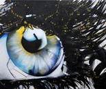 Blue - 40x60 - Acrylic on canvas