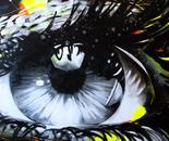 Color Blind - 30x60 - Acrylic on canvas