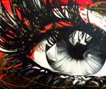 Color Blind II - 30x60 - Acrylic on canvas