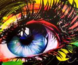 Sunshine Sparkle - 36x60 - Acrylic on canvas