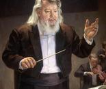 Leif Segerstam, 100x80cm, oil on canvas, 2004