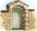 garden's door