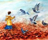 Chasing Doves