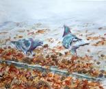 Autumn Pigeons