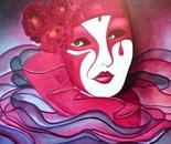 BONJOUR TRISTESSE (oil on canvas 70x100x4/2011)