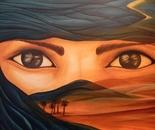 IL FIGLIO DEL DESERTO (oil on canvas 70x100x4/2011)