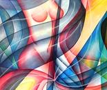 SINUOSITA' (oil on canvas 120x100/2011)
