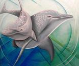 GLI ANGELI DEL MARE (oil on canvas 80x70) 2012