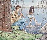 Imaginary self-portrait by the Ottawa River