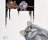 Le jeu avec les rats