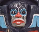 Skidegate Totem Face