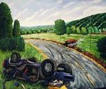 """Kaddish"",48x70"",oil on canvas"