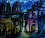Night Time in the village