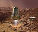 Mars Lander with Module (digital)