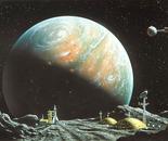 Terraforming Mars (gouache, 1992)