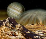 Eruption on Io (digital, from 'Futures', 2004)
