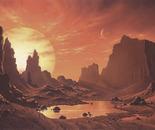 Proxima Planet (acrylics, 1989)