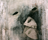 """Buscando la careta"" (""Looking for a mask"")."