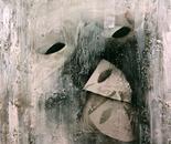 """Buscando la careta"" (""Looking for a mask"")."